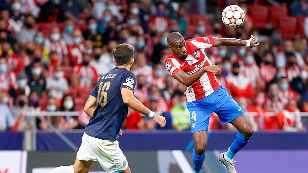 Atlético Madrid y Porto debutaron con un empate en la fase de grupos de la Champions League.m Foto: @Atleti