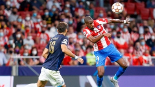 Atlético de Madrid empató en el debut ante el Porto