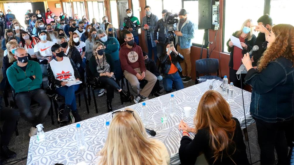 Se lanzó el Programa de Acompañantes Comunitarios que capacitará a más de 1000 referentes
