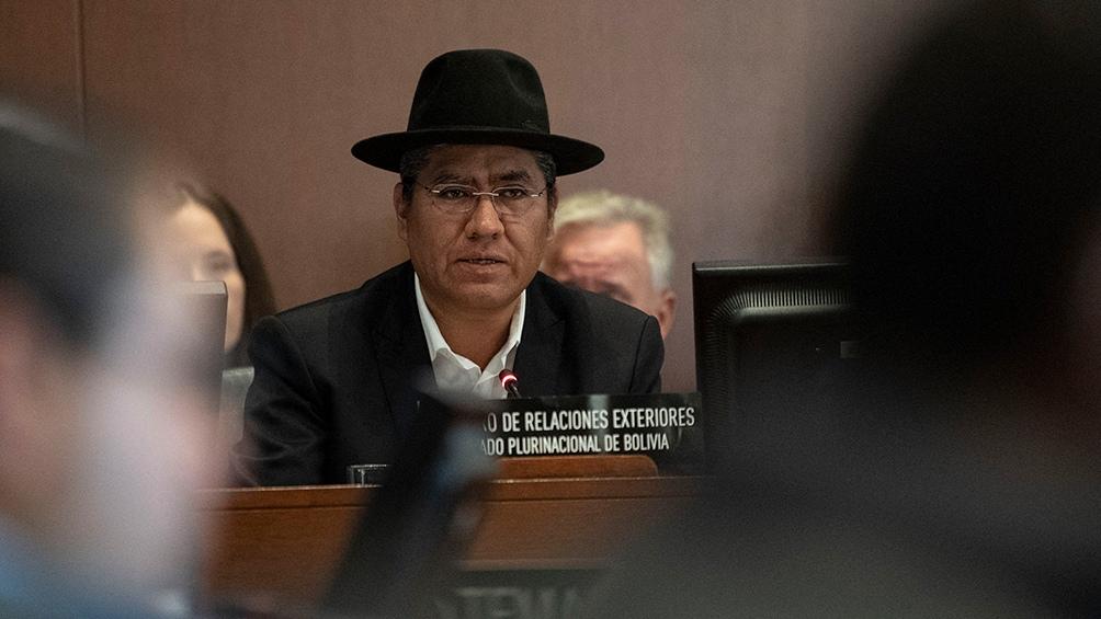 Para el embajador boliviano en la ONU, servicios de inteligencia argentinos estuvieron involucrados en el golpe de 2019
