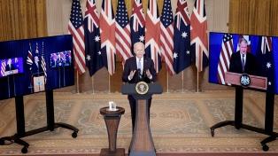 EEUU, Reino Unido y Australia firmaron un pacto que genera malestar en China y la UE