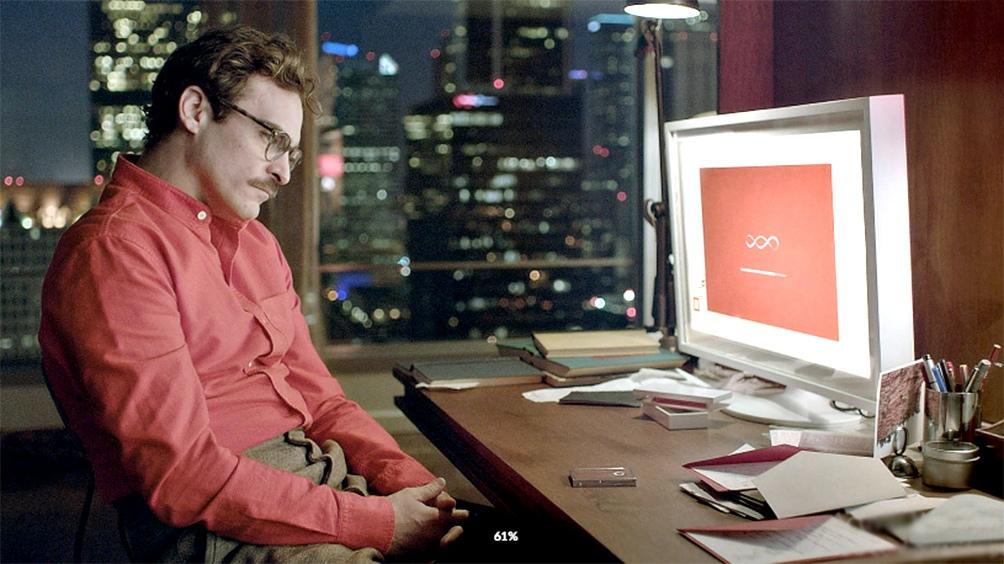En 2013, Her anticipaba en el cine un vínculo afectivo entre un humano y un chatbot basado en IA.