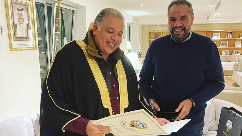 El embajador egipcio junto al kuwaití van a una ronda de negocios en Tandil