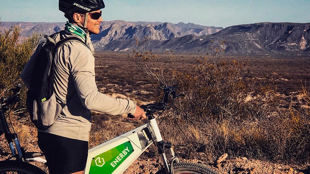 La diversidad de opciones permite disfrutar de estos recorridos a ciclistas.