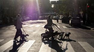 Viernes soleado y con máxima de 22 grados en la Ciudad de Buenos Aires y alrededores