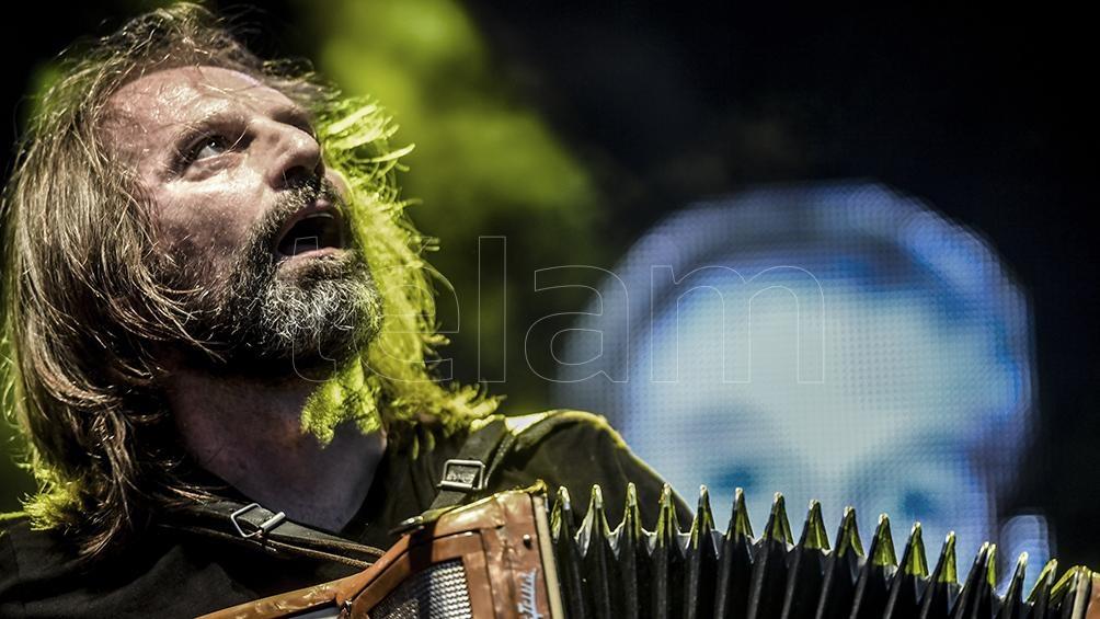 """Chango Spasiuk estrenará el formato """"Música & Palabras"""". Foto: Fernando Gens"""