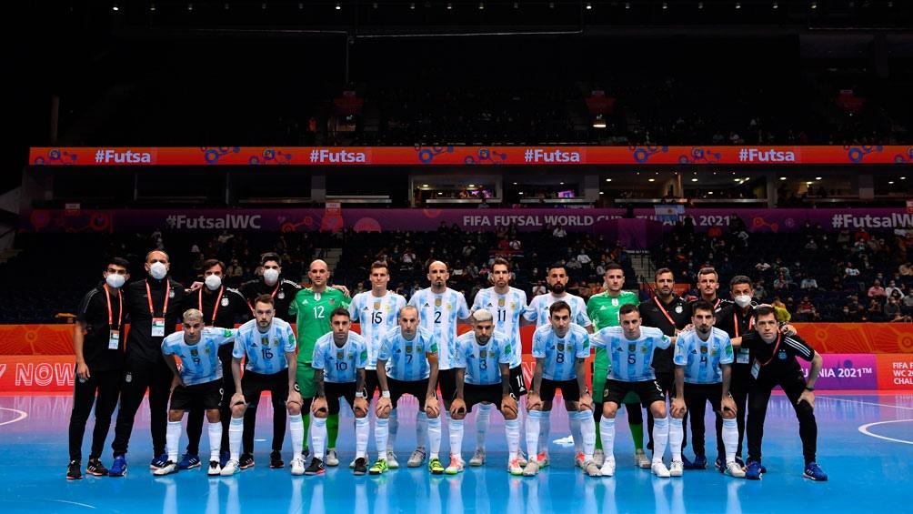 Argentina le ganó a Serbia y esta en octavos de la Copa del Mundo de Futsal