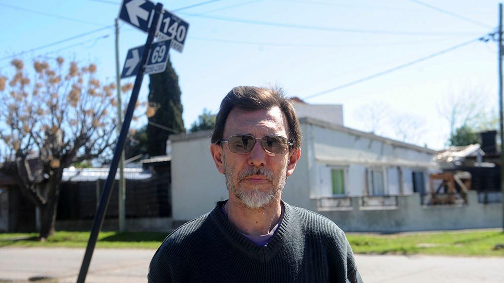 """""""El tenía un profundo compromiso con aquellos que no habían podido sobrevivir, con las familias de los que vio asesinar, por eso tenía muchas ganas de declarar"""" recuerda Rubén, hijo de Jorge Julio. Foto: Eva Cabrera."""