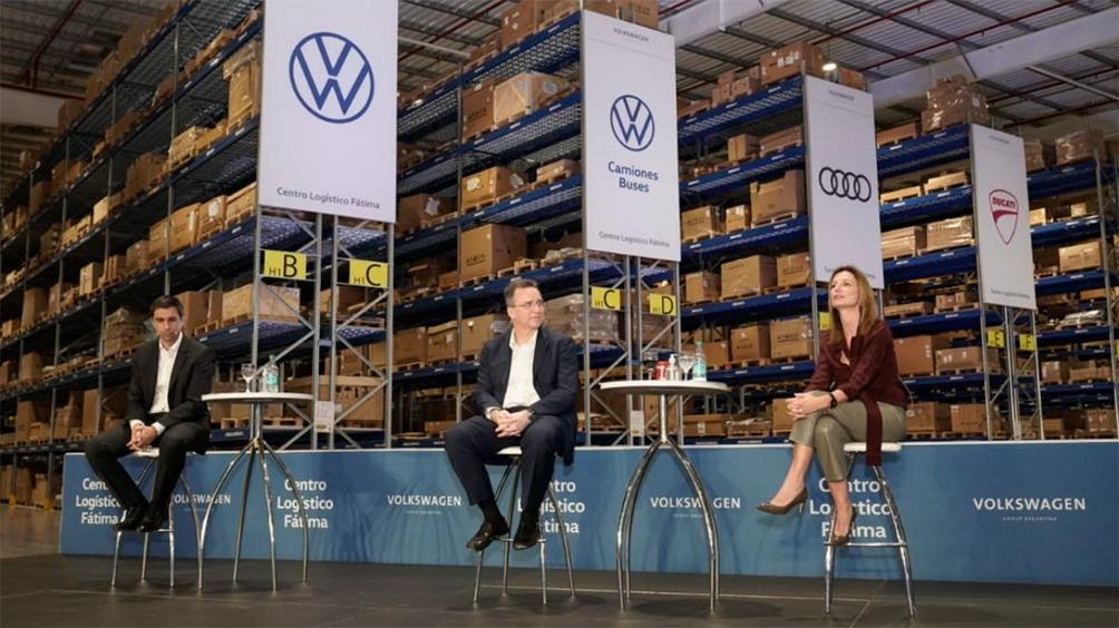 Volkswagen inauguró un Centro Logístico en Pilar con una inversión de US$ 40 millones