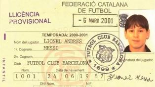 Messi, a 21 años de su llegada al Barcelona