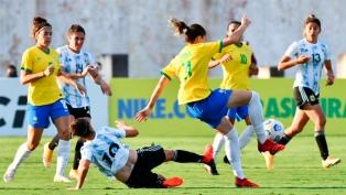 Argentina perdió ante Brasil en un amistoso