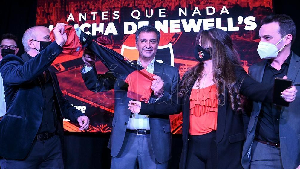 Ignacio Astore, candidato opositor.