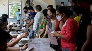 India alcanzó un récord con más de 25 millones de vacunas administradas en un día