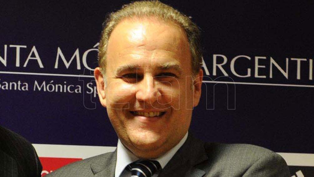 Miguel Silva, hombre de estrecha relación con  Julio Grondona, valoró su capacidad de gestión. Foto: Juan Roleri / Archivo