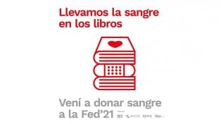 Entre libros y presentaciones, la Feria de Editores suma una campaña de donación de sangre