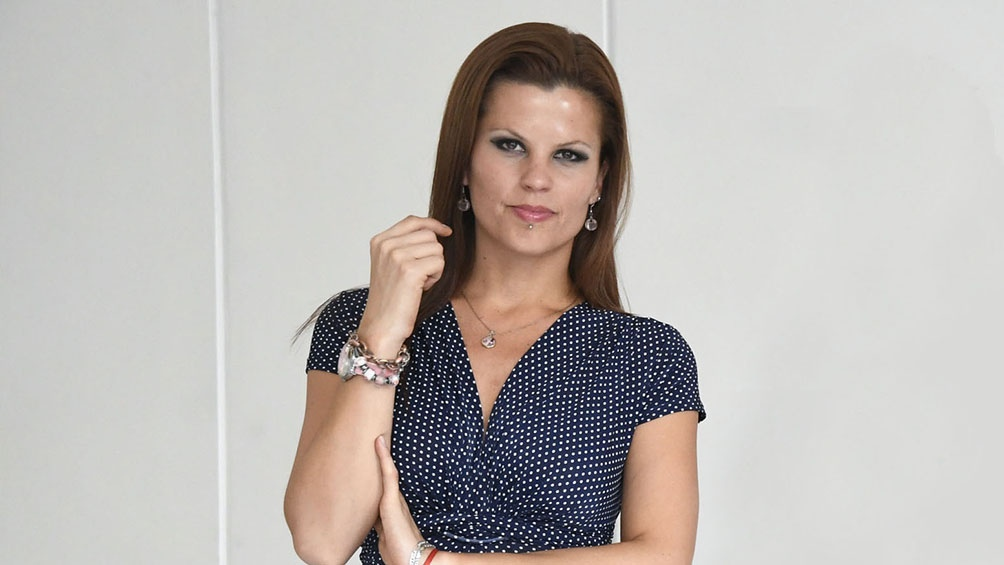 Marina Benítez Demtschenko presidenta de la Fundación Activismo Feminista Digital. Foto: Analia Garelli
