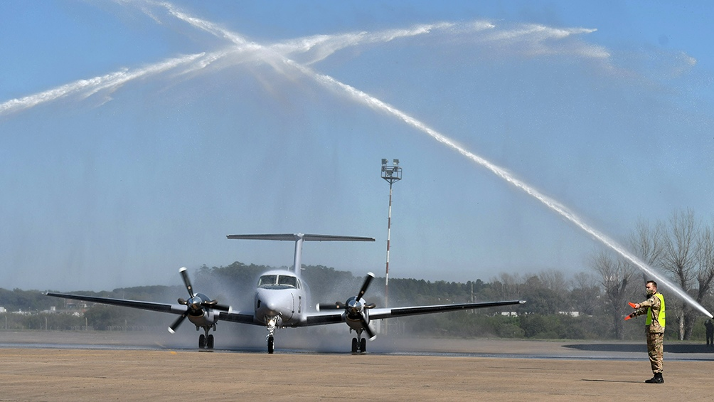 esta nueva flota de aviones permitirá satisfacer los requerimientos de transporte de pasajeros y carga del Estado nacional e incrementará la capacidad de abastecimiento y traslado aéreo. Foto: Pablo Añeli