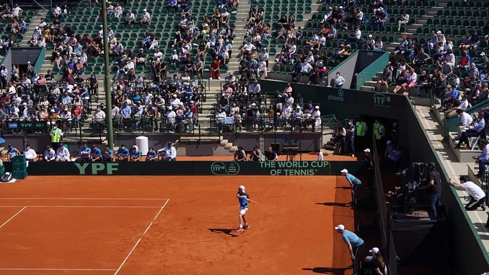 El público volvió al Buenos Aires Lawn Tennis para alentar al equipo. (Foto: Pepe Mateo)