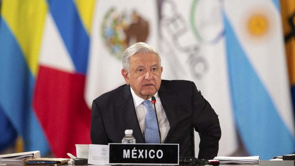 """López Obrador: """"La Celac puede convertirse en el principal instrumento para consolidar las relaciones entre nuestros países"""". Foto: AFP"""