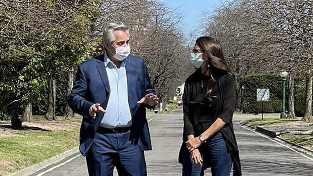 """""""En unidad corregiremos rápido todo lo que haya que corregir en cada rincón de la Argentina"""", dijo el presidente en Twitter."""