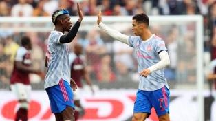 Nuevo gol de Cristiano Ronaldo y victoria agónica del United para seguir en la punta