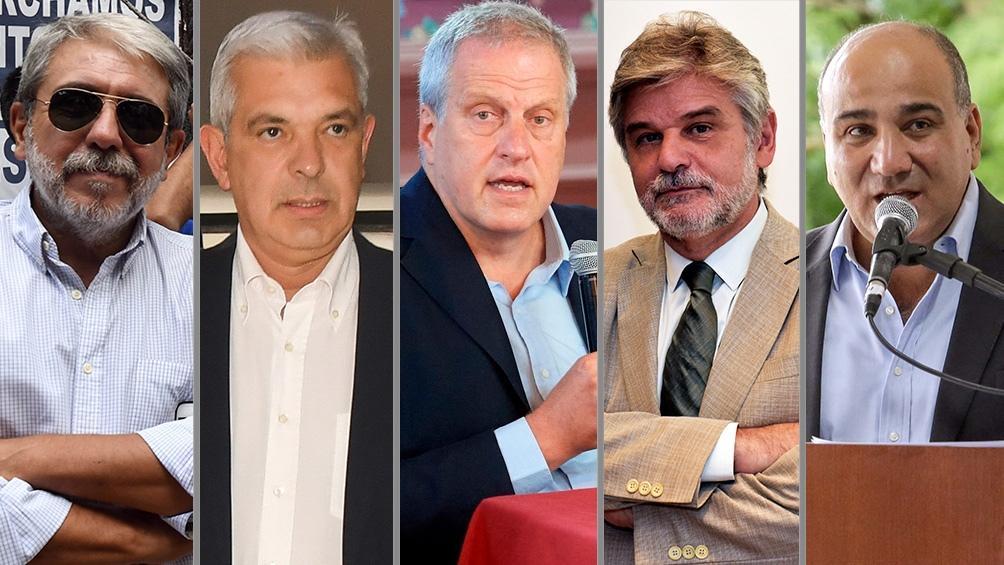 Asumen Aníbal Fernández, Julián Domínguez, Jaime Perczyk y Daniel Filmus.