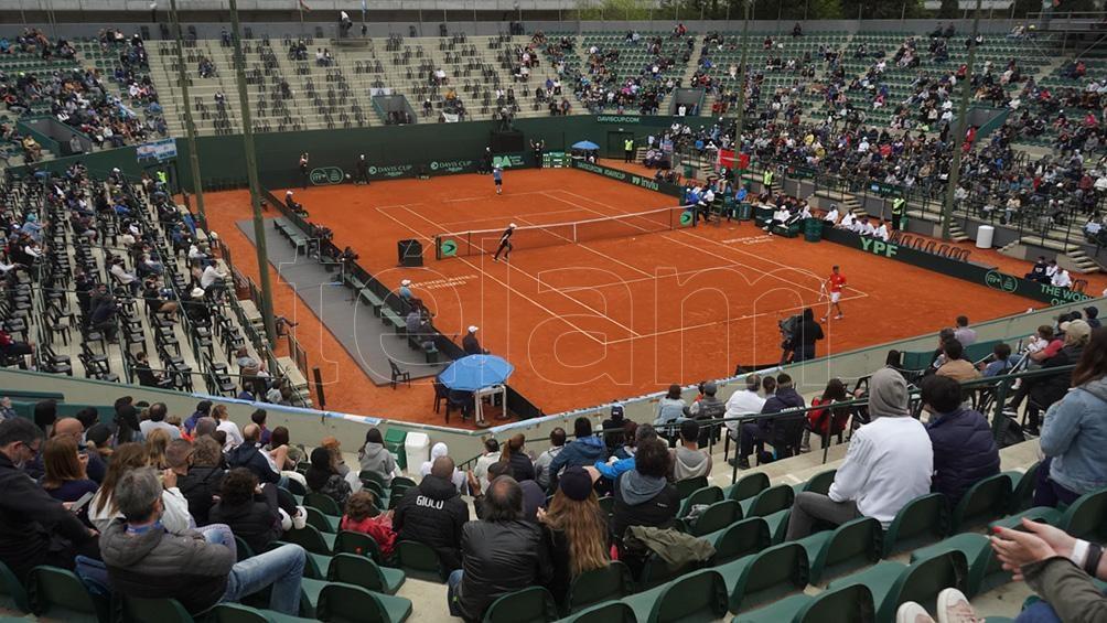 El Lawn Tennis fue el escenario del triunfo argentino. Foto: Pepe Mateos.