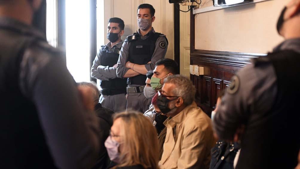 """Ambos imputados fueron condenados por """"homicidio agravado por alevosía"""". Foto: Fernando Gens"""