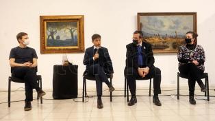 """Kicillof abrió el Congreso Audiovisual y anunció que """"ahora se viene la reactivación"""""""