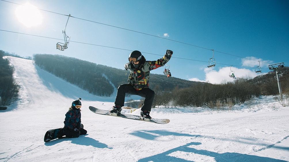 Los deportes invernales son una alternativapara los visitantes.