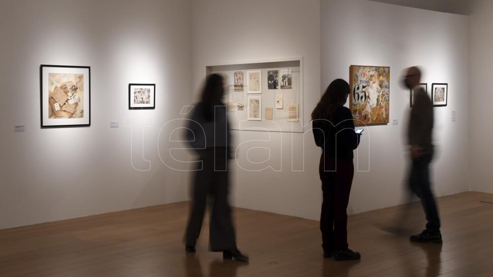 """""""Rafael Barradas. Hombre flecha"""", la exposición con la que el museo celebra veinte años de su fundación."""