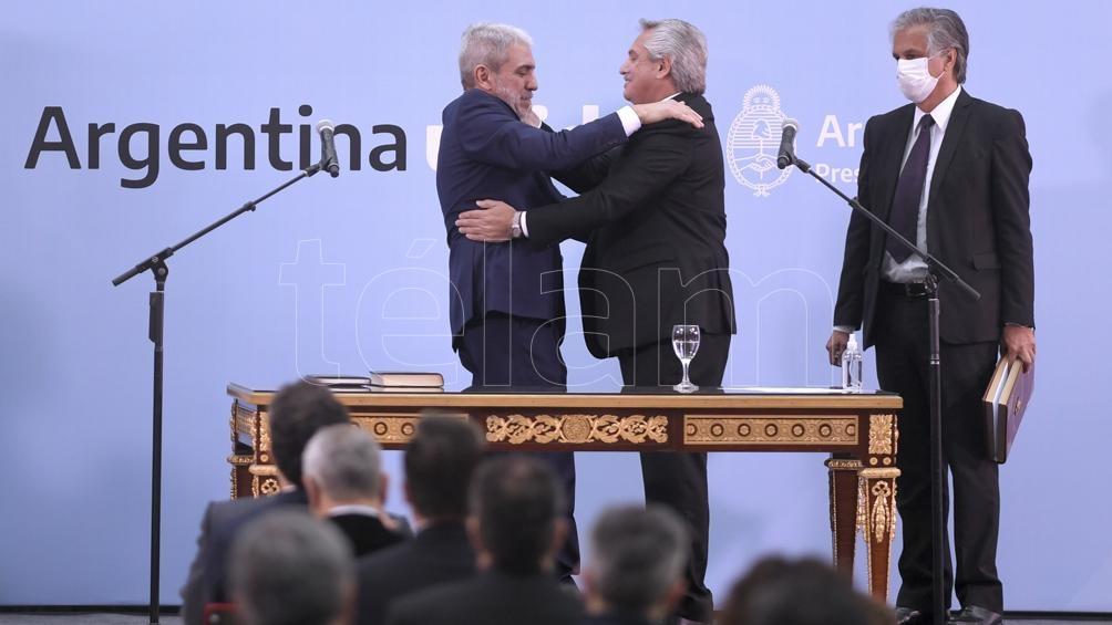 Dos Fernández que vuelven a compartir Gobierno. Foto: Julián Álvarez.
