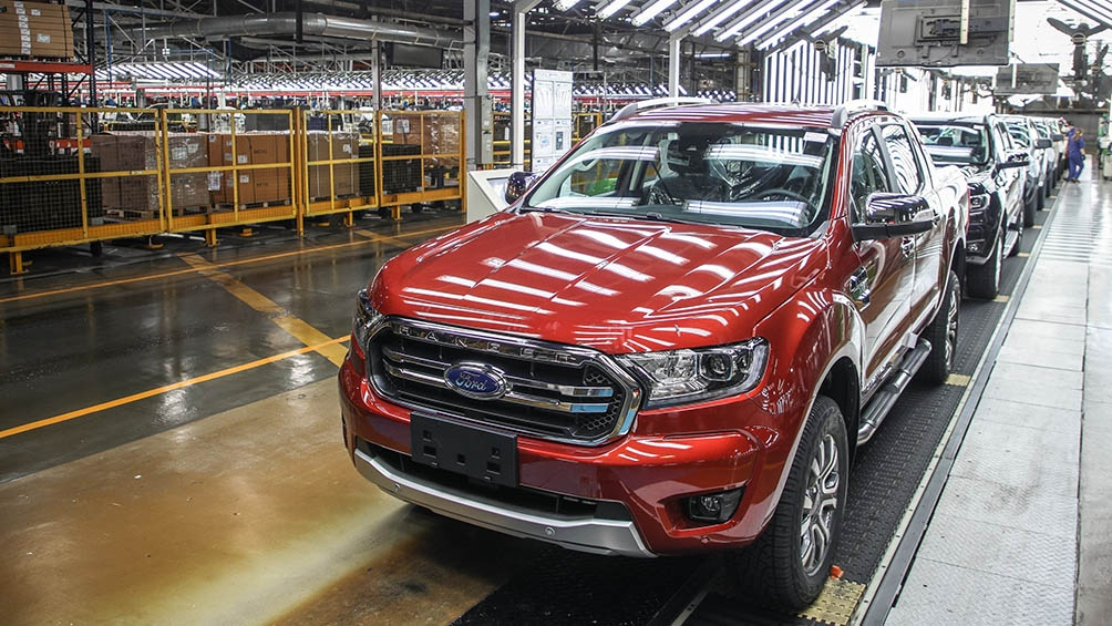 La próxima generación de la Ranger contará con sistemas, procesos y tecnologías de clase mundial, con mayores estándares de eficiencia. Foto Ford Argentina.