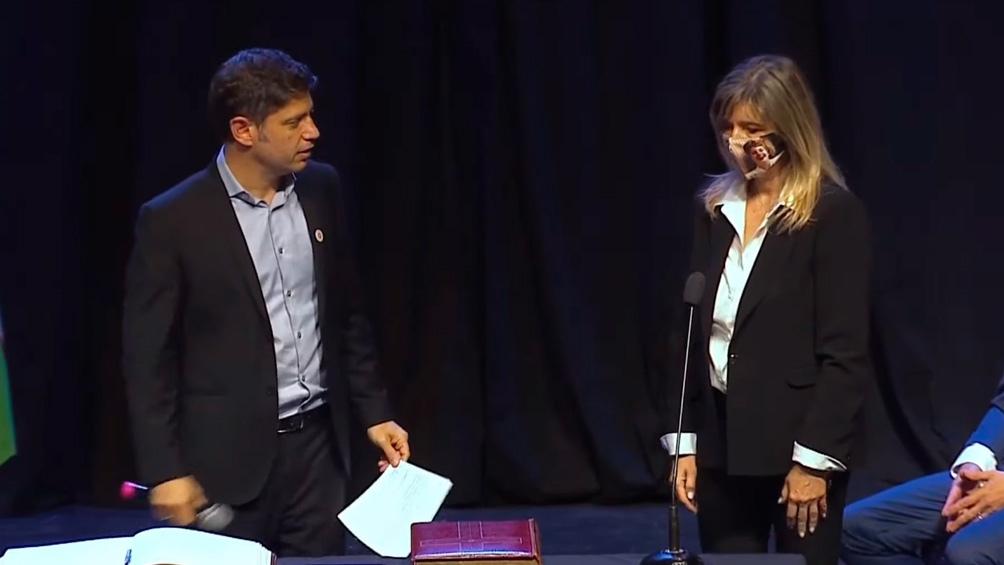 Álvarez Rodríguez irá como ministra de Gobierno (Captura de TV).