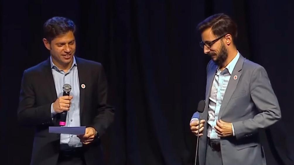 Agustín de Simone será el titular del Instituto de Vivienda (Captura de TV).