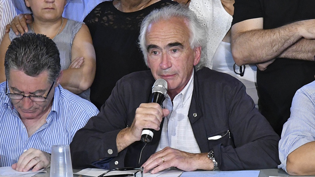 """Ricardo Peidró el incremento del haber mínimo """"puede actuar como impulso"""" cuando otros sectores discutan paritarias."""