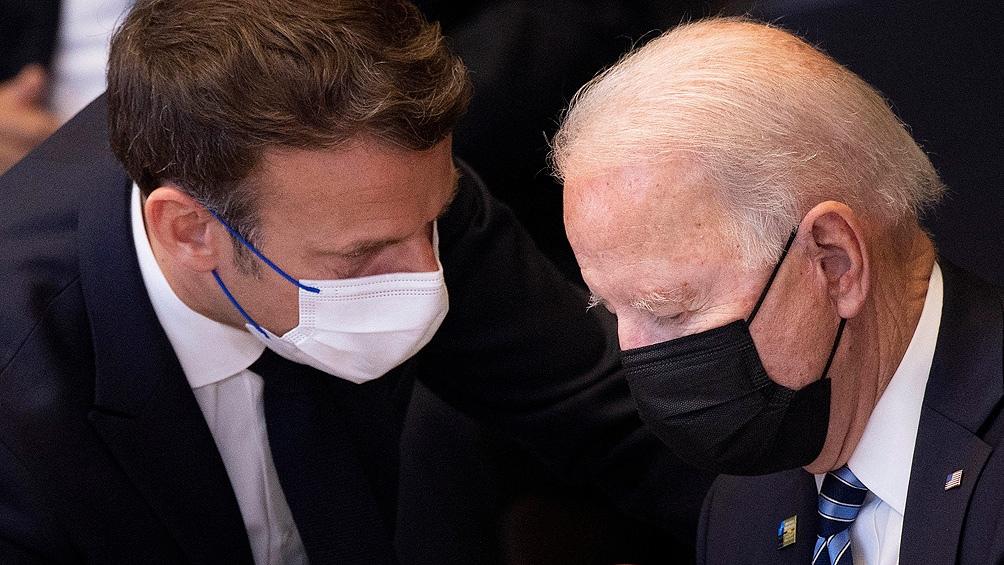 Biden, Macron y Borrell buscan darle otro tono a los cruces por el pacto en el Indo-Pacífico