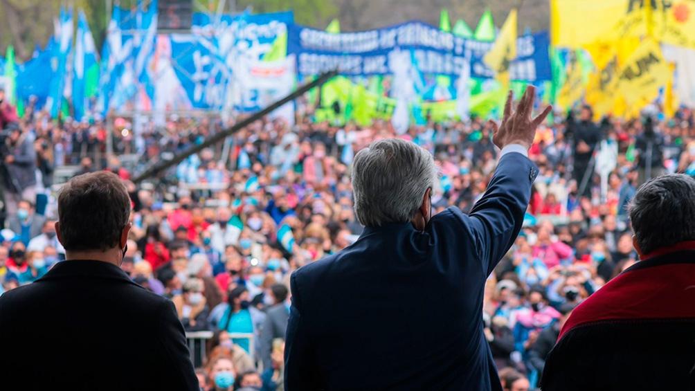 El José C. Paz el Frente de Todos (FdT) obtuvo mayor porcentaje de diferencia de votos ante Juntos en las últimas elecciones PASO (Foto: Presidencia).