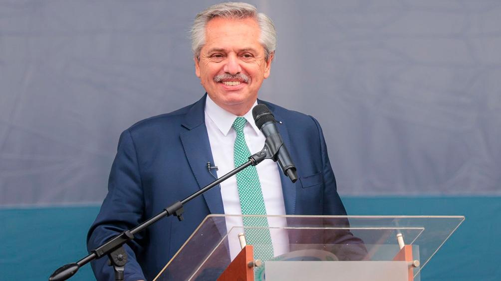 """Alberto Fernández dijo que """"ahora nos acusan de libertinos los mismos que nos acusaban de encerradores en otros tiempos"""" (Foto: Presidencia)"""