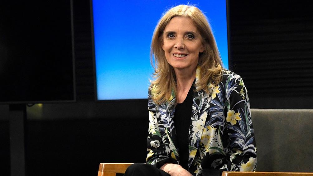 La presidenta de Agencia Télam Bernarda Llorente.