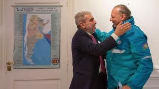 Aníbal Fernández se reunió con Berni y D'Alessando para coordinar la seguridad en el AMBA