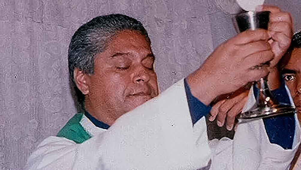 El ex sacerdote acusado: Emilio Raimundo Lamas (Captura Twitter @FelicindaCluney).