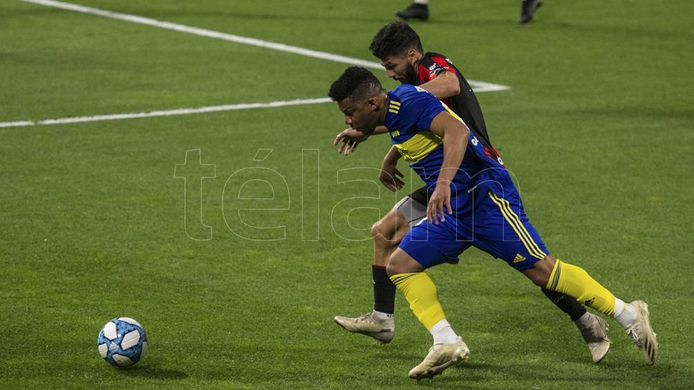 Fabra volvió a la titularidad en Boca y tuvo un buen partido (Foto: Emilio Rapetti).