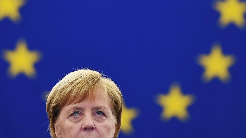 A lo largo de sus 16 años en el poder, Merkel se convirtió en la líder europea más importante del siglo XXI (Foto AFP).