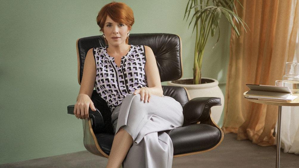 """Carla Peterson es la psicoanalista de """"Terapias alternativas"""" (Foto: Star+)"""