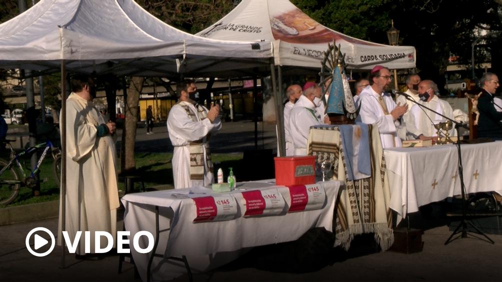 El obispo de Buenos Aires ofició una misa contra la trata, la explotación sexual y laboral