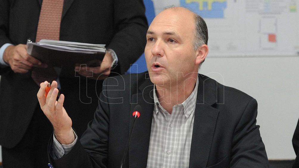 Guillermo Carmona, el nuevo secretario de Malvinas, Antártida y Atlántico Sur. (Foto Fernando Sturla)