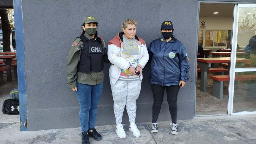 Raquel Bordón Saravia respondía a las órdenes de la banda.