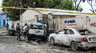 Al menos ocho muertos por un coche bomba cerca del palacio presidencial somalí