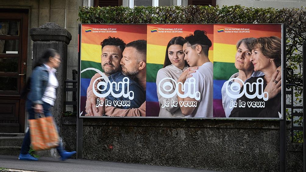El 63% del electorado se declaró a favor del matrimonio igualitario.